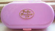 Vintage Polly Pocket Stampin' School complete set w dolls Bluebird Toys
