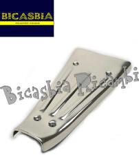 8608 - TAPPETINO CENTRALE IN ACCIAIO INOX VESPA 125 150 200 PX ARCOBALENO