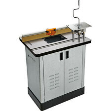 Bench Dog® Cast Iron Router Table, Pro Router Lift, Pro Fence, & Steel Ca...