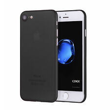 UltraSlim Case iPhone 8 7 / Plus Matt Clear Schutz Hülle Skin Cover Schale Folie
