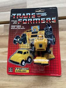 Hasbro Transformers Bumblebee 1990 Reissue Action Figure New And Sealed NOC!