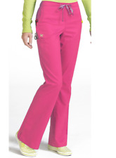 {XS-tall} Med Couture ViVi Sherry Drawstring Pants ROSE 5721T