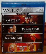 COLECCION KOMPLETTE KARATE KID 4 DISCS BLU-RAY NEU SPANISCH (UNGEÖFFNETE) R2