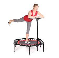 SportPlus Fitness Trampolin Bungee-Seil-System bis 130kg Benutzergewicht, Ø110cm