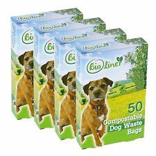 200 x BioLiner Dog Waste Bags – Compostable Dog Waste/Poo Bags – EN 13432