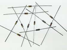 910 Ohm 1/4W 5% Carbon Composition Resistor (Lot of 20) - Carbon Comp 250mW