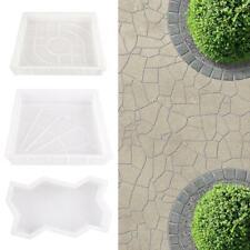 Garden Pavement Mold DIY Walk Manually Propylene Paving Cement Concrete Mould