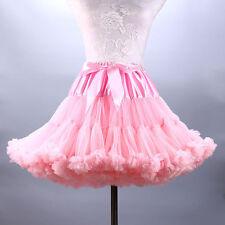 TUTU Skirt Petticoat Cosplay Pettiskirt Crinolines Fluffy Dance Skirt Costume