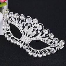 Venetian Crystal Diamond Metal Mask Filigree Masquerade Eye Mask Halloween Party