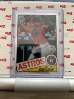 Jose Altuve 2020 Topps Chrome 1985 35th Anniversary Refractor #85TC-19 Astros