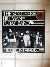 "Souther Hillman Furay Band ""Trouble in Paradise"" LP in Shrink EXC"