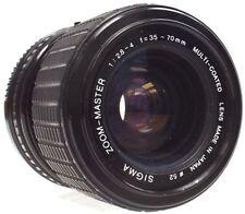 Sigma Standard 35-70mm Focal Camera Lenses