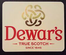 Dewar's scotch whisky sticker / decal