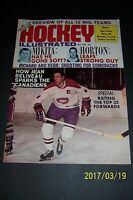 1968 Hockey Illustrated MONTREAL Canadians BELIVEAU Color Photos STANLEY CUP