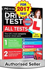 2017 Driving Theory Test All Tests & Hazard Perception PC DVD NEW - NEW RELEASE
