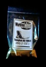 Tongkat Ali Pasak Bumi longjack eurycoma Root Extract Powder 1 oz bag 100:1