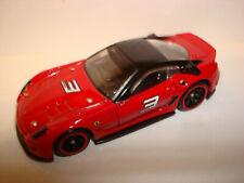 Hot Wheels SPEED MACHINES FERRARI 599XX (RED) loose