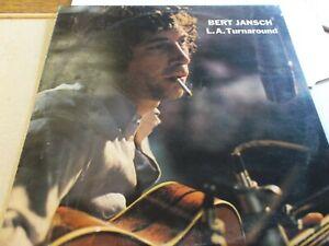 BERT JANSCH,L A TURNAROUND LP ON  CHARISMA,CAS1090,1974