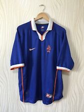 NETHERLANDS 1998 1999 HOME FOOTBALL SHIRT SOCCER JERSEY NIKE VINTAGE BLUE