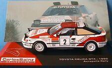TOYOTA CELICA GT4 #2 ACROPOLIS RALLY 1990 CARLOS SAINZ MOYA IXO 1/43 RALLYE