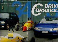 Z45 Ritaglio Clipping 1993 Prova Renault Clio Williams e Honda CRX VTi