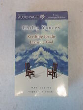 Philip Yancey REACHING FOR THE INVISIBLE GOD 8 Cassette Tapes SEALED