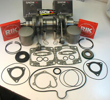 CRANKSHAFT PISTONS KIT 00-05 POLARIS 800 RMK XC SP EDGE BIG BLOCK 2000 2001 2002