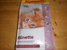 1x 2kg Josera Minette 2kg Kitten Trockenfutter
