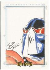 Batman Archives SketchaFEX Sketch Card drawn by Jack Jadson
