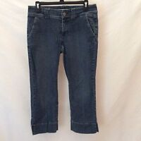 Tommy Hilfiger Women's Sz 6 Cropped Denim Jean Capris Pants