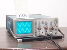 TEKTRONIX 2215 OSCILLOSCOPE 2x60MHz *st G524
