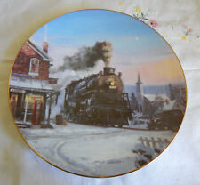 """Morning Star Plate Romance Of The Rails 8 1/4"""""""