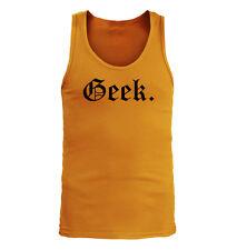 Geek #133 - Men's Tank Top - Funny Humor Nerd Gamer World of Warcraft