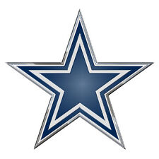Dallas Cowboys Color Emblem Sticker Decal Aluminum Metal Car Truck Auto
