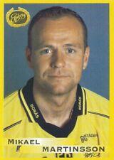 045 MIKAEL MARTINSSON # SWEDEN IF.ELFSBORG STICKER FOTBOLL ALLSVENSKAN 1999