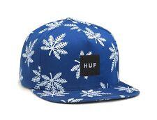 Huf SNOWLIFE SNAPBACK Royal Blue White Screenprint Adjustable Men's Hat