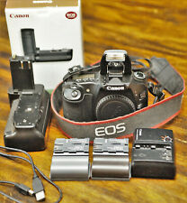 Canon EOS 30D Digital SLR Camera (body + battery grip + memory card)