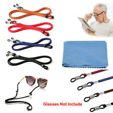 4Pack Sports Sunglass Holder Strap Safety Glasses Eyeglasses Neck PU Cord String