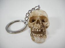 Schlüsselanhänger Schädel 10 cm Urzeitmensch Totenkopf Figur Deko COR 390 C