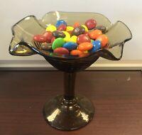 "Candy Dish Stemmed - Depression Era 4.25"" Tall"