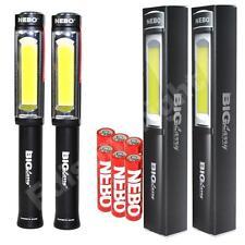 2 PACK NEBO 6306 Big Larry 400 Lumen COB LED Work Lights w/6X AA Batteries