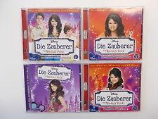 4x Die Zauberer Vom Waverly Place als CD +  Folge  3 + 5 + 6 Hörspiel.