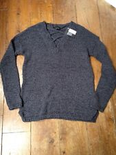 primark blue Cable Knit  jumper size 4