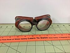 Vintage clear vented goggles, Steampunk! as-is, Free shipping!