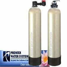 SALT FREE WATER CONDITIONER 12 GPM & CATALYTIC CARBON MANUAL BACKWASH VALVE