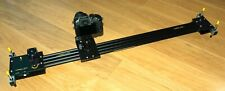 Camera slider - motorised, programmable and totally quiet