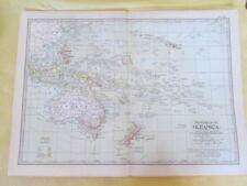 Vintage Maps,OCEANICA,114,Century Atlas,1902