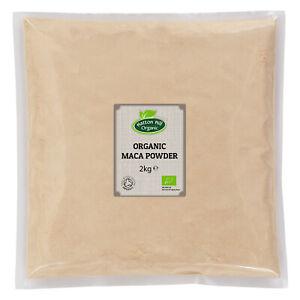 Organic Maca Powder 2kg Certified Organic