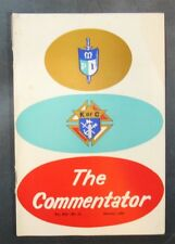 1963 Knights of Columbus 'The Commentator' Newsletter vintage