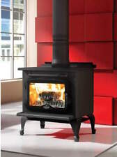 Osburn Wood Stove Free standing 900 small black EPA Certified Modern Simple